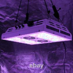 VIPARSPECTRA PAR450 450W LED Grow Light with 3 Dimmers 12 Band Full Spectrum