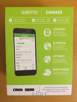 WeMo Dimmer Light Switch (Pack 3 Set)