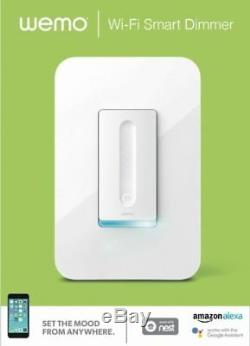 Wemo Dimmer WiFi Light Switch, Works with Alexa, Google Assistant, Apple Homekit
