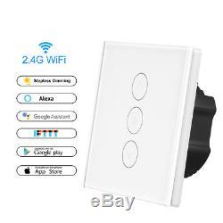 Wifi Smart Light Switches Google Home Switch Mit Dimmer Arbeit