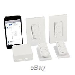 Wireless Light Switch Dimmer Kit Smart Home Dimmable Lighting with Remote Control