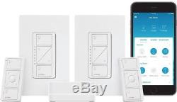 Wireless Smart Lighting Dimmer Switch Kit Programmable Remote Control 2-Count