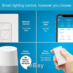 Wireless Smart Lighting Dimmer Switch Kit Voice Assistant Remote Smartphone