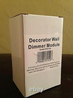 X-10 Decorator Wall Switch Dimmer Module WS12A X10 Lighting Controller