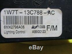 02 Lincoln Marquis VIC Module De Commande D'éclairage LCM Phares Interrupteur De Clignotant