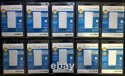 10 Lutron Caseta Wireless In-wall Light/fan Switches Pd-5ans-wh-r Prix Le Plus Bas