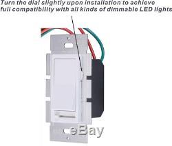 10 Pack Cloudy Bay 3-way / Unipolaire Dimmer Électrique Interrupteur 150w L