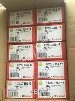 10x Legrand Synergy Light Dimmer Interrupteur Avec Voyant Gris 600w 735917