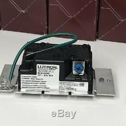 (11) Lutron Maestro C. Interrupteur Variateur De Lumière À Contrôle Unipolaire Brun Ma-600-br