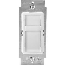 18 Pk Leviton Interrupteur Variateur De Lumière C22-06672-1lw - Gradateur Unipolaire Blanc 150w
