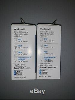 2 Lutron Caseta Smart Wireless Lighting Gradateurs Commutateur Pour Elv +