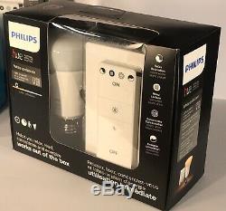 2 X Philips Hue Blanc Ambiance Led 2 X Gradateur & Echo Dot, Ampoule Intelligente