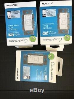 3 Gradateurs D'éclairage Intelligents Luteta Caseta Sans Fil Pour Ampoules Elv +