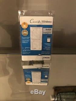 3 Interrupteur D'éclairage Intelligent Sans Fil Caseta Pour Tous Les Types D'ampoules Et Les Ventilateurs