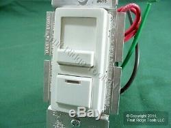 5 Dimmer Leviton Blanc Preset Lumière Commutateurs 3 Voies 1000w Mag Low-volt Incandesc