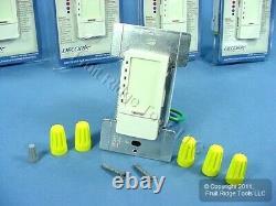 5 Leviton Amande Mark 10 Fluorescent Touch Lumière Gradateur 1000va Tpx10-1la