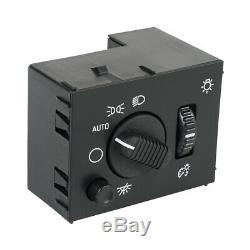 5x Dôme Lumière Dimmer Lampe Frontale Commutateur Pour Gmc Sierra Hd 1500/3500/2500 2003-2006
