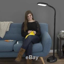 60 17 Watts Led Lumière Du Soleil Lampadaire Avec Écran Tactile Bouton D'alimentation Et Gradateur