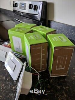 7 Commutateurs De Lumière Wifi Wemo Dimmer + 1 Commutateur Intelligent Wemo (alexa Et Google)