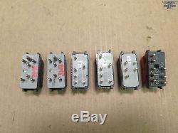86-95 Mercedes W124 Classe E Ensemble De 11 Risque Siège Chauffant Dimmer Interrupteur Oem