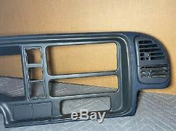 95-98 Chevy Tahoe Suburban Silverado Dash Cluster Radio Bezel