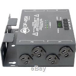 Adj Dp-415r Innovant Portable 4 Canaux Scène D'éclairage DMX Dimmer / Switch Pack