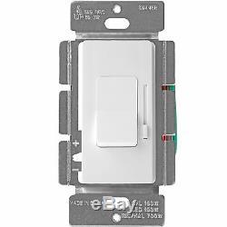 Bascule De Glissière De Commutateur De Lumière D'enerlites 120v 150w 3-way Led / Cfl