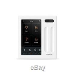 Brillant Tout-en-smart One Home Control Panel 2-variateur De Lumière Bha120us-wh2