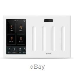 Brillant Tout-en-un Smart Home Panneau De Commande 4 Variateur De Lumière Bha120us-wh4