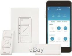 Caseta Kit De Démarreur De Gradateur D'éclairage Intelligent Smart Lighting Smart Home Enabled Nouveau