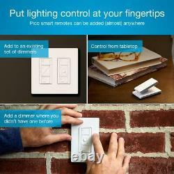 Caseta Wireless Smart Lighting Dimmer Switch (2 Count) Kit De Démarrage