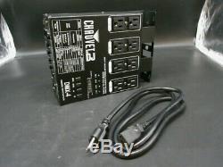 Chauvet-4 Led DMX 4 Canaux DMX Dj Éclairage Gradateur Puissance Pack- Pièces Seulement