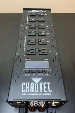 Chauvet Dj Pro-d6 Dmx-512 Dimmer / Commutateur Paquet (6 Canaux) Lumière Led Contrôleur