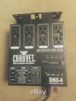 Chauvet Dmx-4 Contrôleur De Lumière À Variateur / Commutateur Dj 4 Canaux Dmx-512 Dj