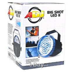 Chauvet Pro-d6 6 Ch 20a Dmx-512 Gradateur Pack + Effet Lumière Stroboscopique