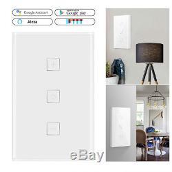 Commande À Distance Intelligente De Bâti De Commutateur D'obscurcisseur De Wifi De Commutateur À La Maison De Google