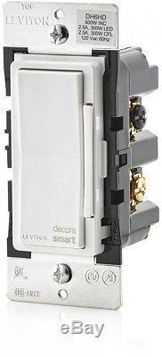 Commande De Gradateur Smart Gradator De 600 Watts Homekit Siri 5-pack De Leviton