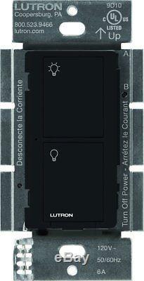 Commutateur D'éclairage Intelligent Sans Fil De Lutron Caseta Pour Tous Les Types D'ampoule Et Ventilateurs6-pac