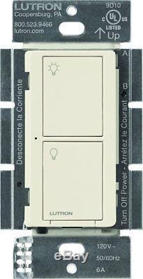Commutateur D'éclairage Intelligent Sans Fil Luteta Caseta Pour Tous Les Types D'ampoules Et Ventilateurs, Pd-6an