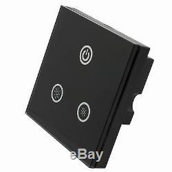 Commutateur De Gradateur De Panneau Tactile De Dc12v-24v 8a Led Pour La Lumière Simple De Led / Strip-tr05