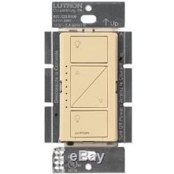 Commutateur Gradateur D'éclairage Intelligent Sans Fil De Lutron Caseta (paquet De 10) (ivoire)