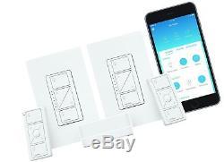 Commutateur Gradateur Sans Fil Intelligent D'éclairage De Lutron Caseta 2 Starter Kit