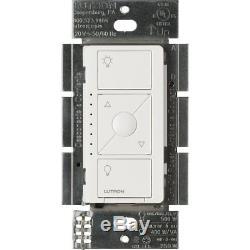 Commutateur Gradateur Sans Fil Intelligent D'éclairage De Lutron Caseta (blanc) (paquet De 8)