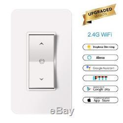 Commutateur Intelligent De Lumière De Wifi Un Gang Pour Le Kit À La Maison D'ios Avec Le Réseau À Distance 2,4 Gigahertz