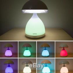 Commutateur Tactile Pat Champignon Bureau Lumière Rechargeable Colorée Atmosphère Lampe De Table
