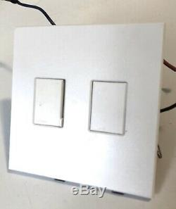 Double Light Switch Vareo Lutron V 600 Et 120 V Gradateur Préréglé Vétérinaires 1000