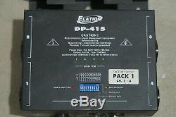 Elation Adj Dp-415 2x4 = 8 Canaux Dmx-scène D'éclairage 512 Gradateur Pack