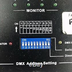 Elation Professional 2 Set Dp-415 4 Canaux De Scène DMX Interrupteur Variateur Pack