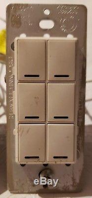 Ensemble D'éclairage Sans Fil Control4 À 3 Gradateurs, Clavier À 1-6 Touches, Blanc