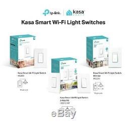 Ensemble De 3 Kits Tp-link Hs220 - Interrupteur De Lumière Wi-fi Intelligent - Gradateur (hs220)